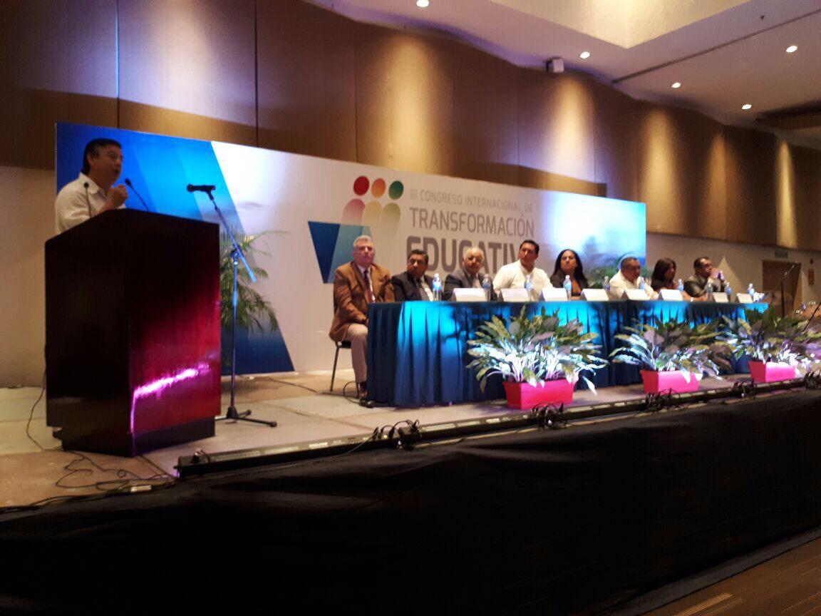 Inicia Tercer Congreso Internacional de Transformación Educativa en Boca del Río