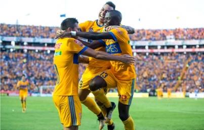 Tigres empata 1-1 con Rayados en partido de ida final de Apertura 2017