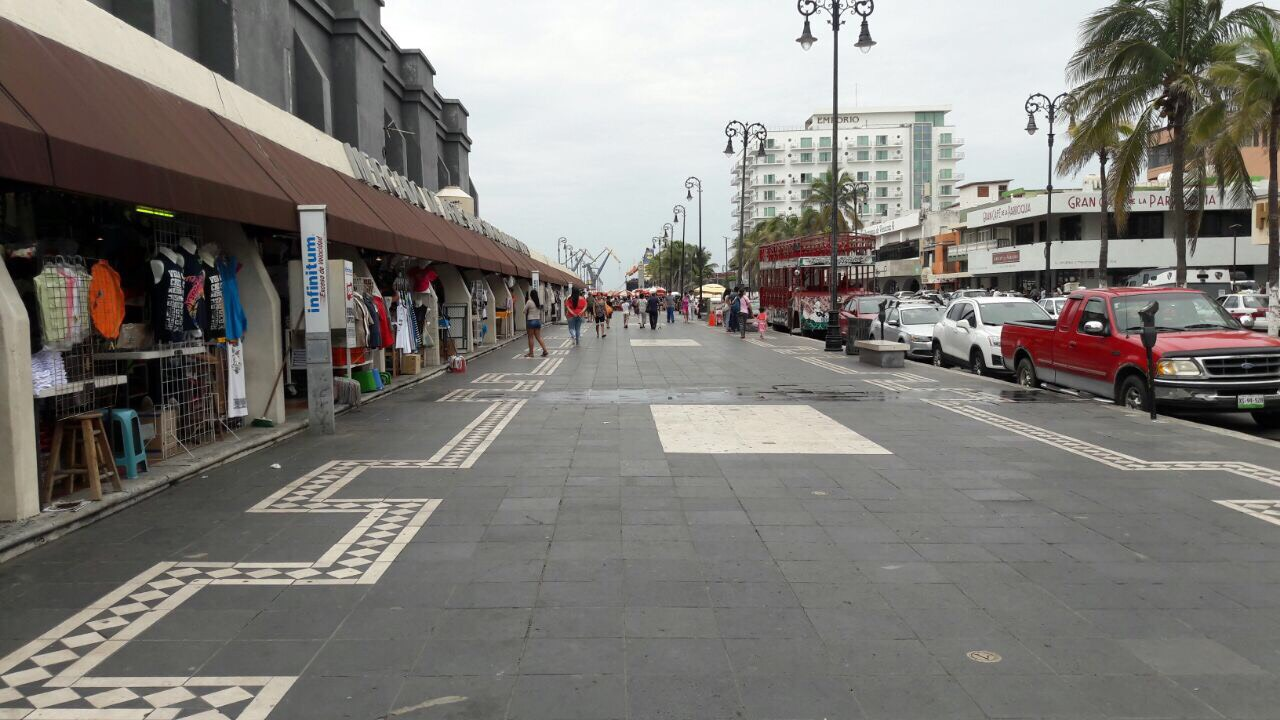 Ligera recuperación de la temperatura, persiste el cielo nublado en la Veracruz