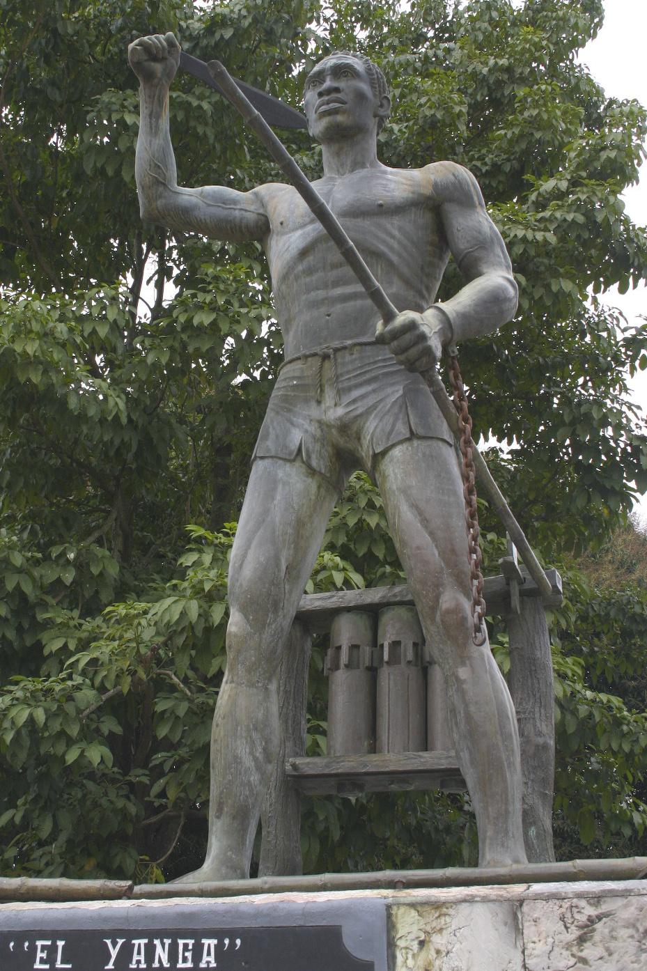 Yanga se hace presente en el Museo Recinto de la Reforma en la ciudad de Veracruz