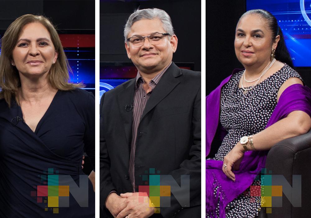 Rosío Córdova, Sara Ladrón de Guevara y Jorge Manzo, los candidatos a la rectoría de la UV