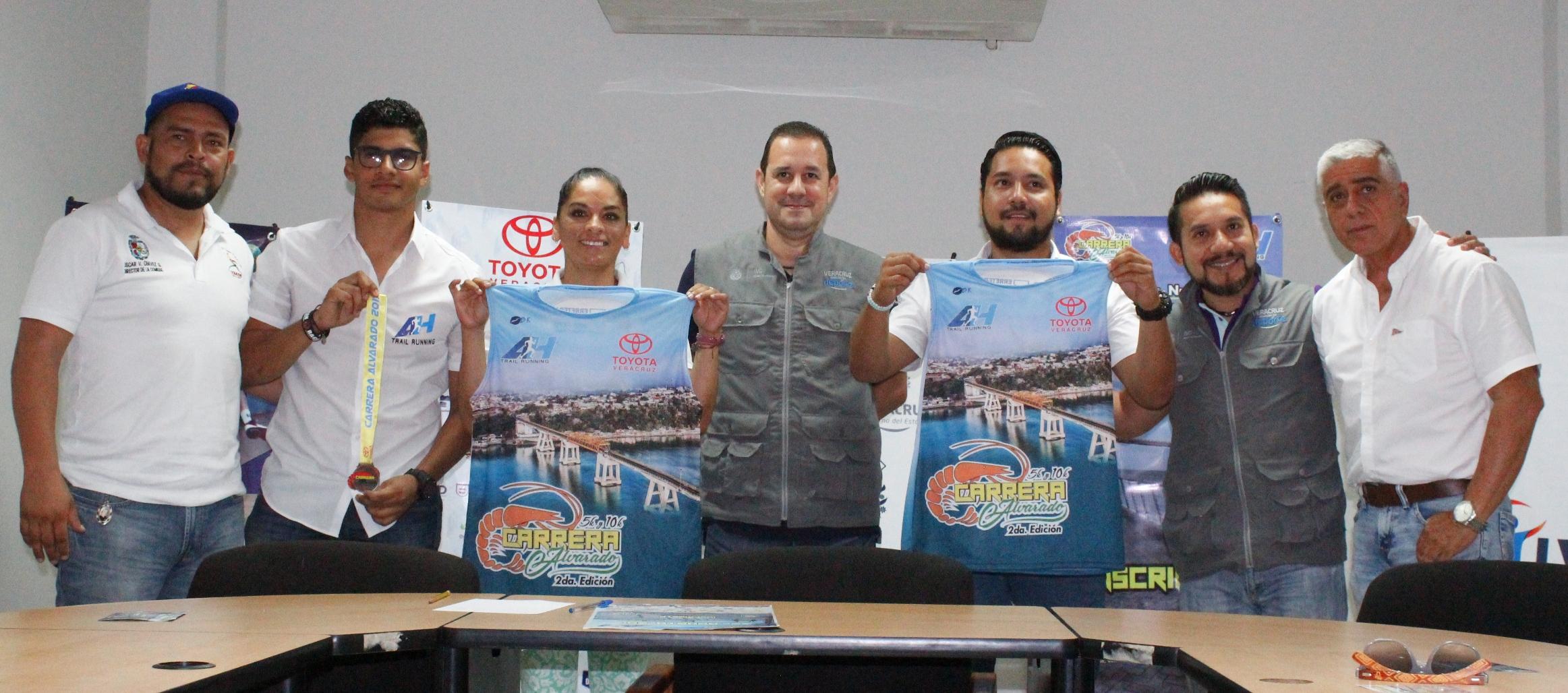 Respalda Instituto Veracruzano del Deporte carrera Alvarado 2017