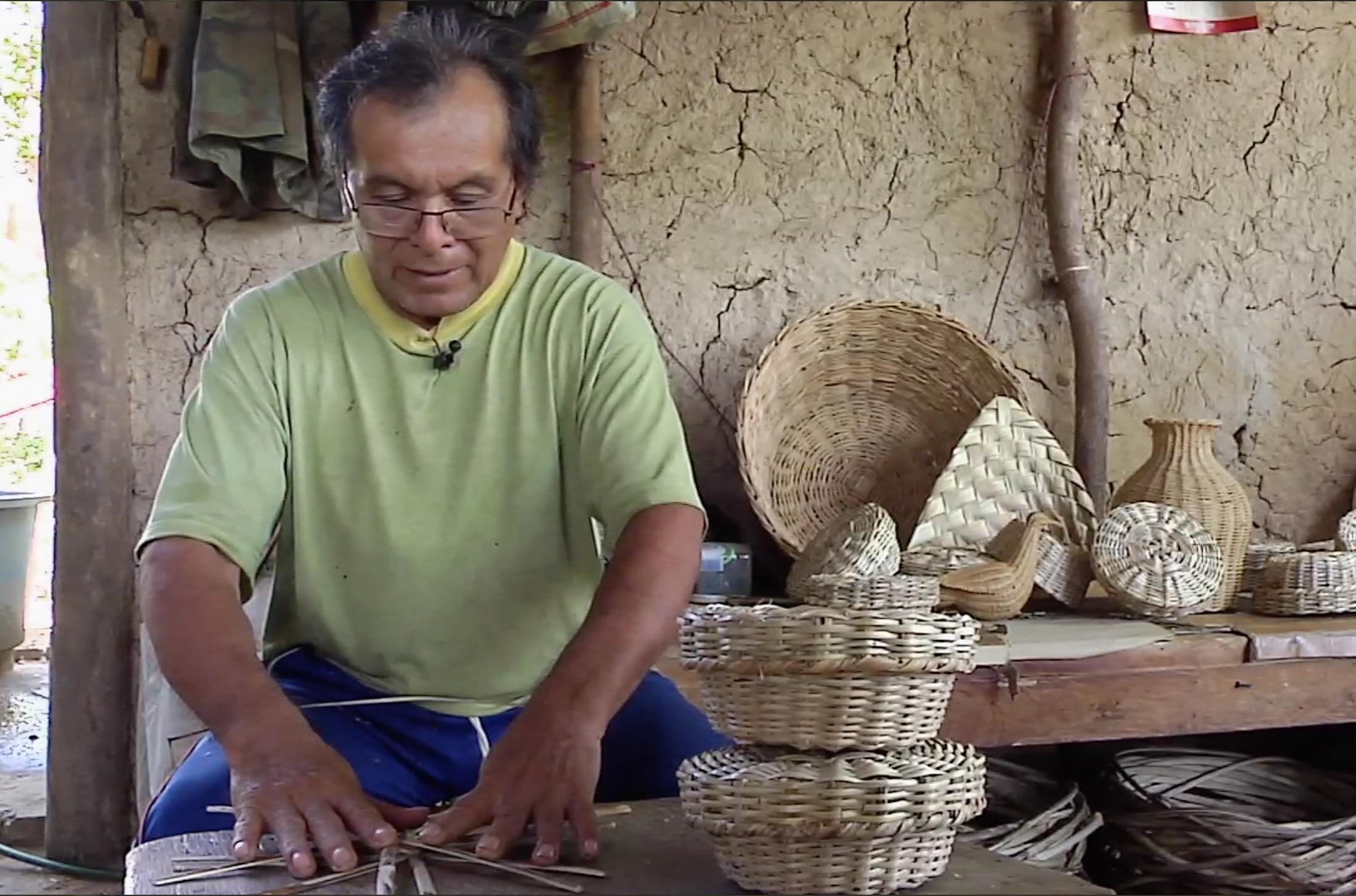 La cestería, arte que aún se mantiene vigente en Zaragoza