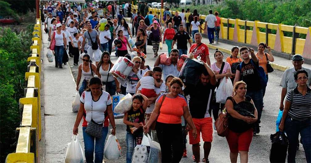 Sufren Brasil y Colombia por la intensa ola migratoria venezolana