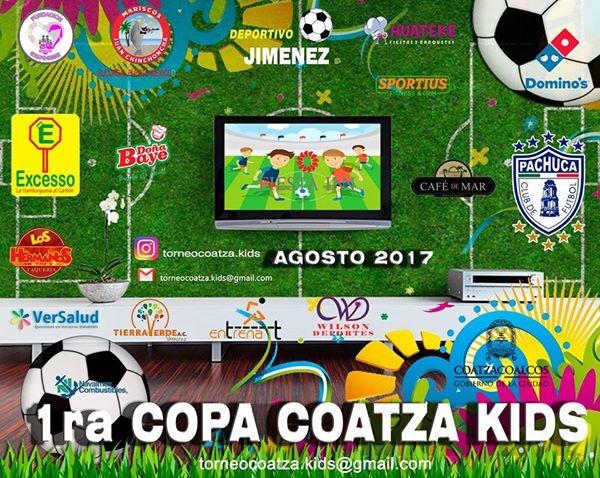 Todo listo para Copa Kids Coatzacoalcos