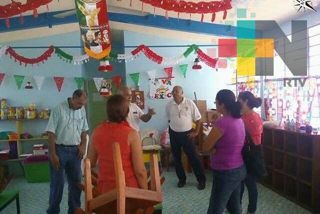 Escuela primaria y jardín de niños de Tuxpan fueron desalojadas por falsa alarma de sismo