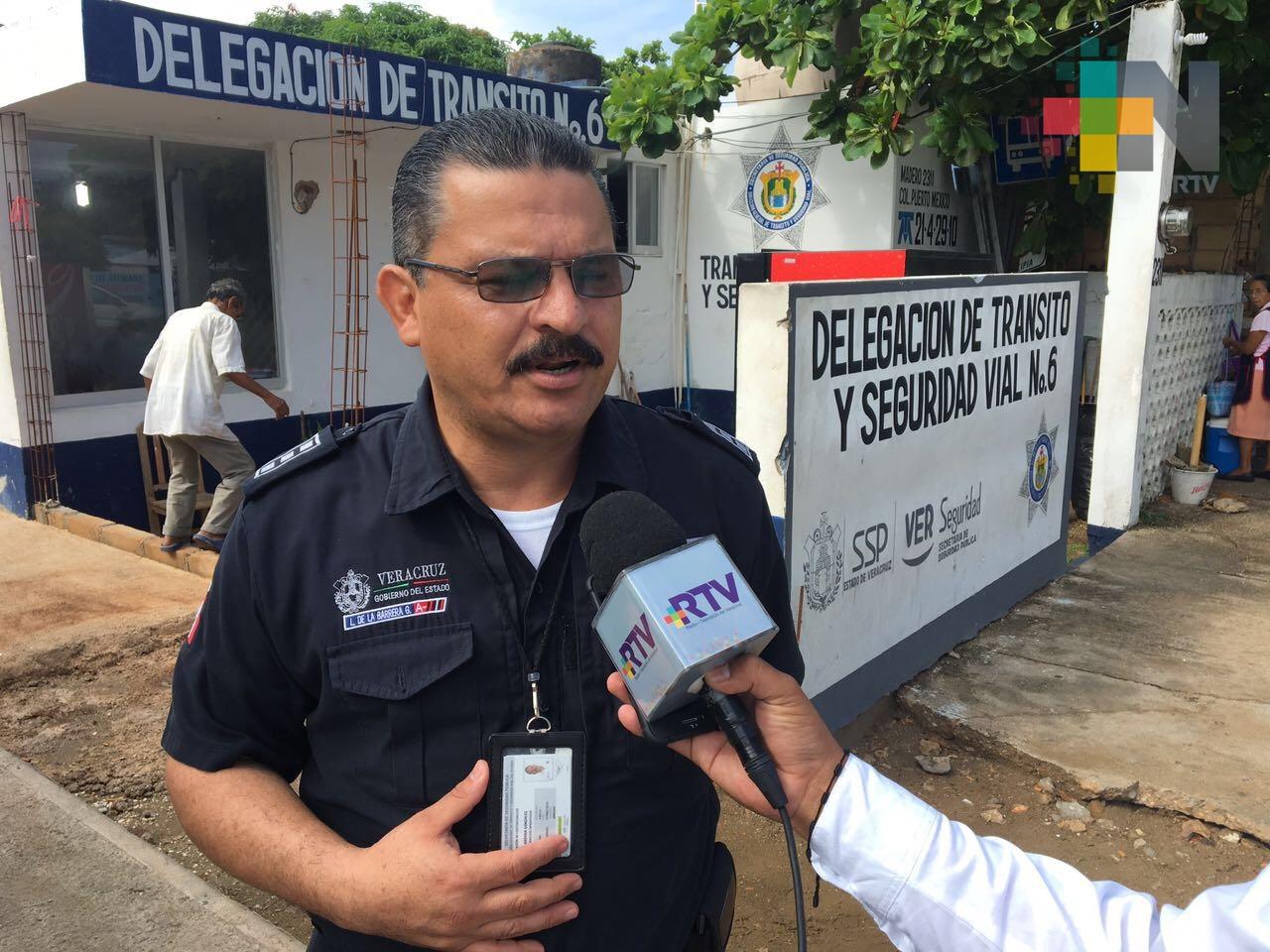 En Coatzacoalcos detectaron falsos agentes de tránsito