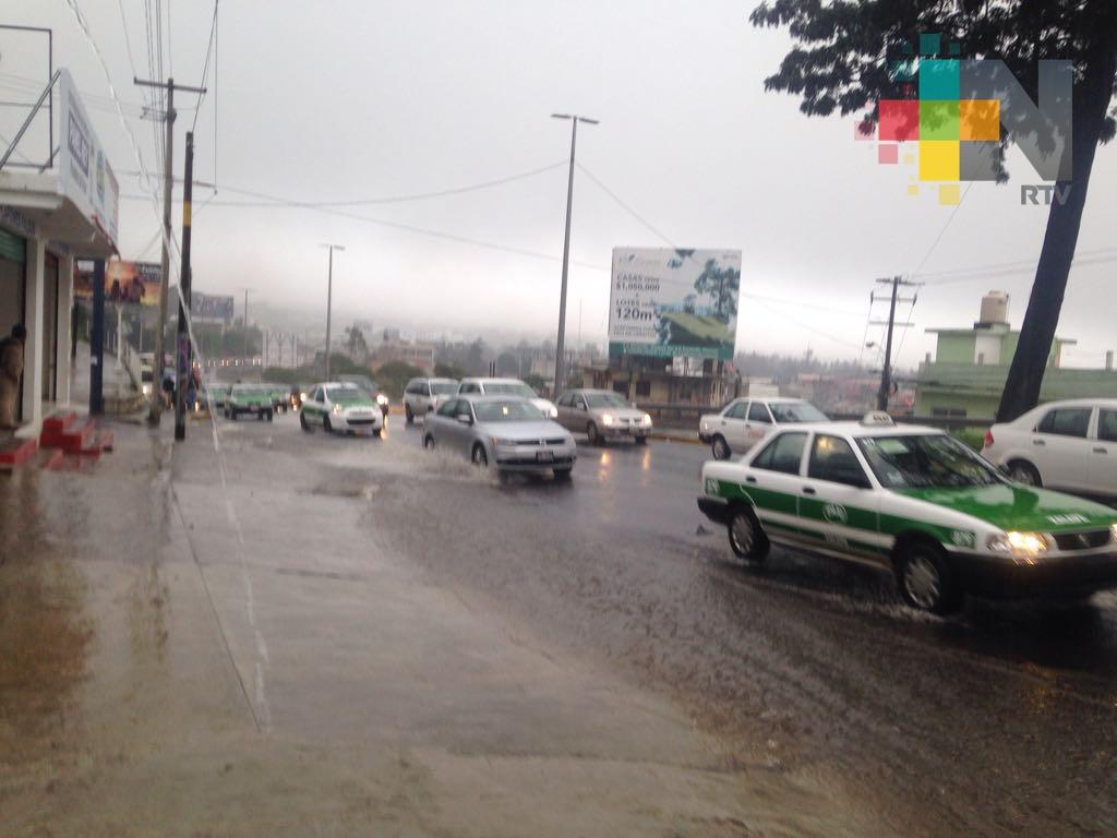 Frente frío número 10 ocasionará lluvias importantes en el norte y sur de Veracruz