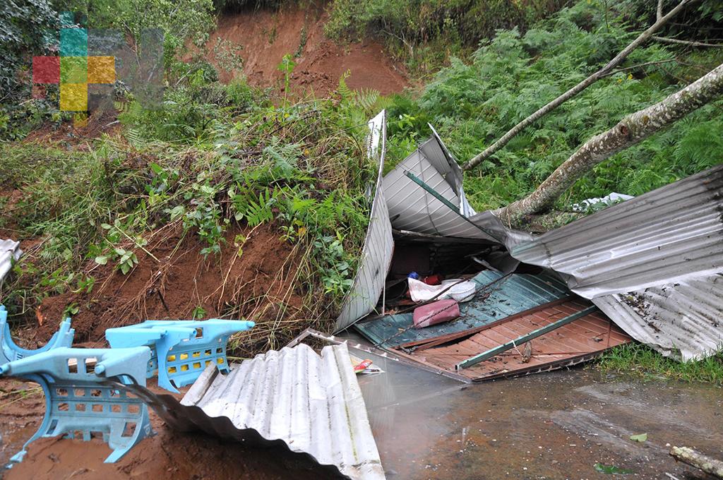 PC de Xalapa detecta 26 colonias populares asentadas en zona de alto riesgo