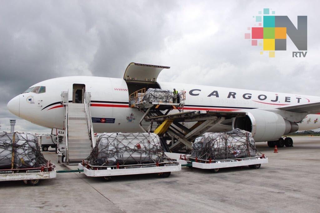 Llega a México ayuda de Rusia, Corea del Sur, China y Canadá