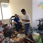 UV finalizará este viernes el acopio de víveres para damnificados de Oaxaca