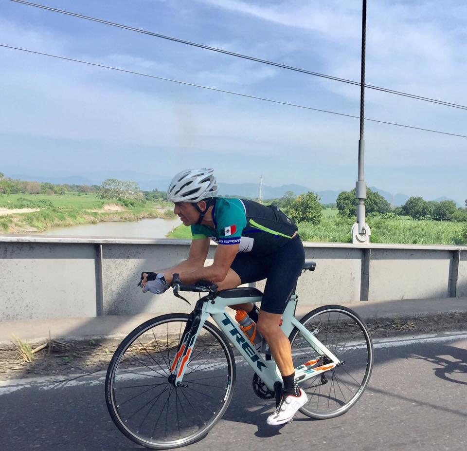Listo Eduardo Salas para el mundial de Ironman 70.3