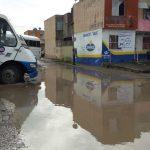 Se genera otro hundimiento en fraccionamiento Oasis de Veracruz