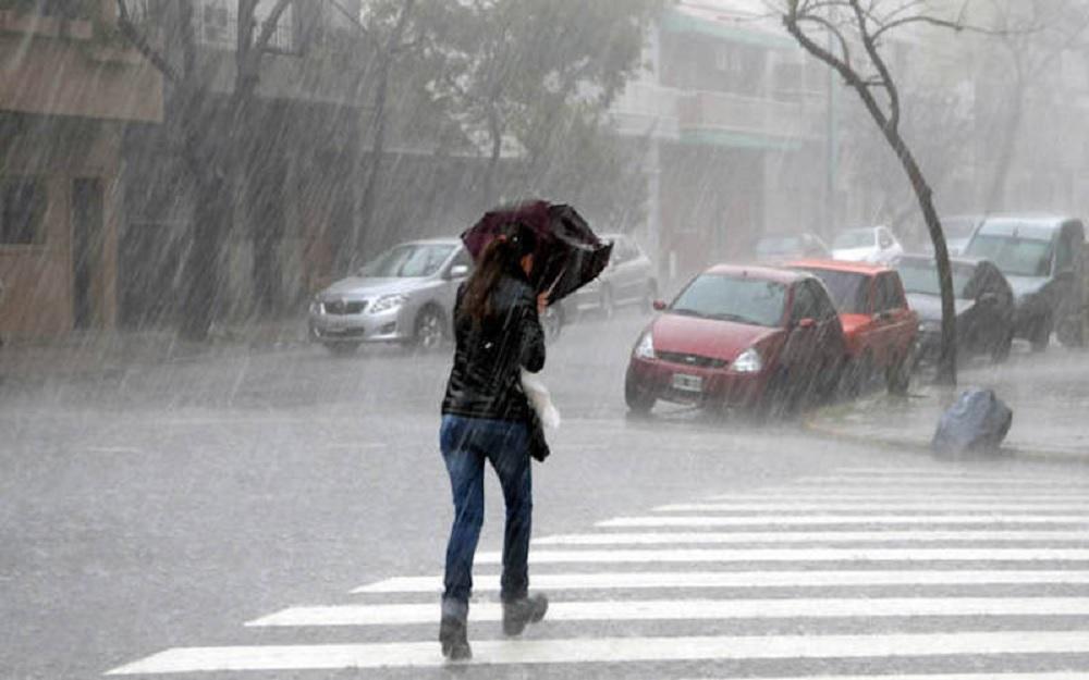Lluvias fuertes, tormentas y viento de Norte en gran parte de la entidad veracruzana