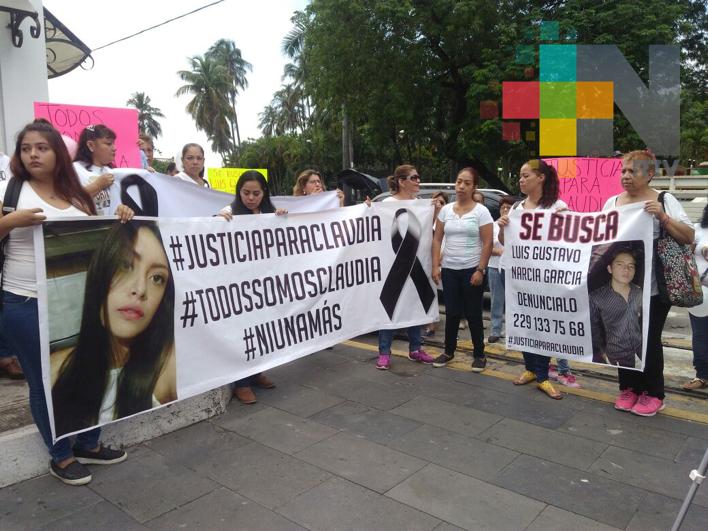 Piden justicia para Claudia Alondra Suárez