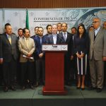 Presenta Frente Ciudadano por México agenda legislativa para el último periodo ordinario de sesiones