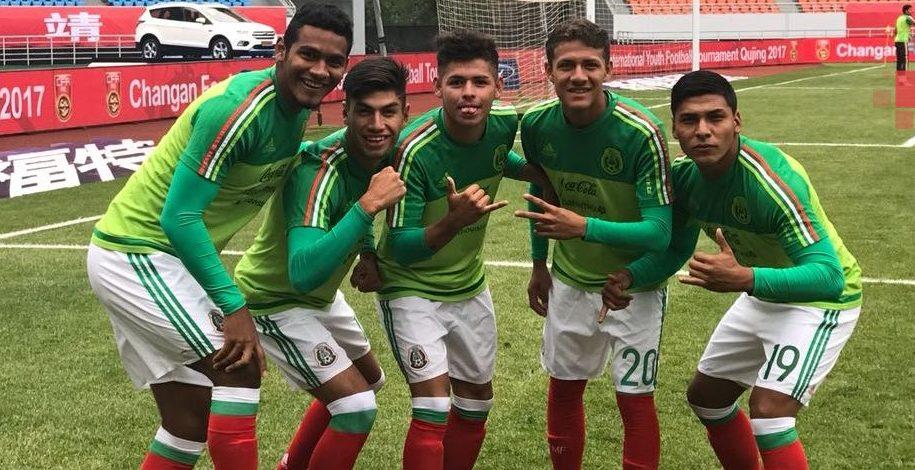 Tri Sub 18 vence 3-1 a Omán Sub 19 en torneo en China