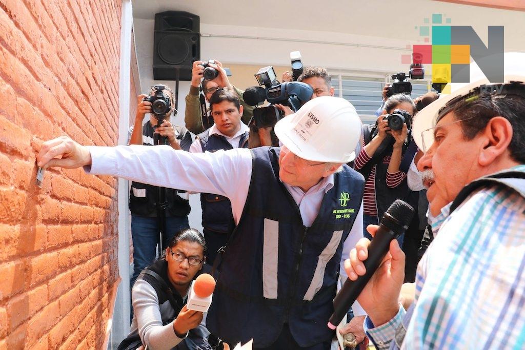 Termina la revisión de escuelas en la Ciudad de México tras el sismo
