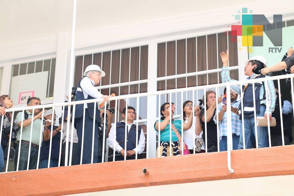 Concluye el regreso a clases en la mayoría de las escuelas afectadas por el sismo