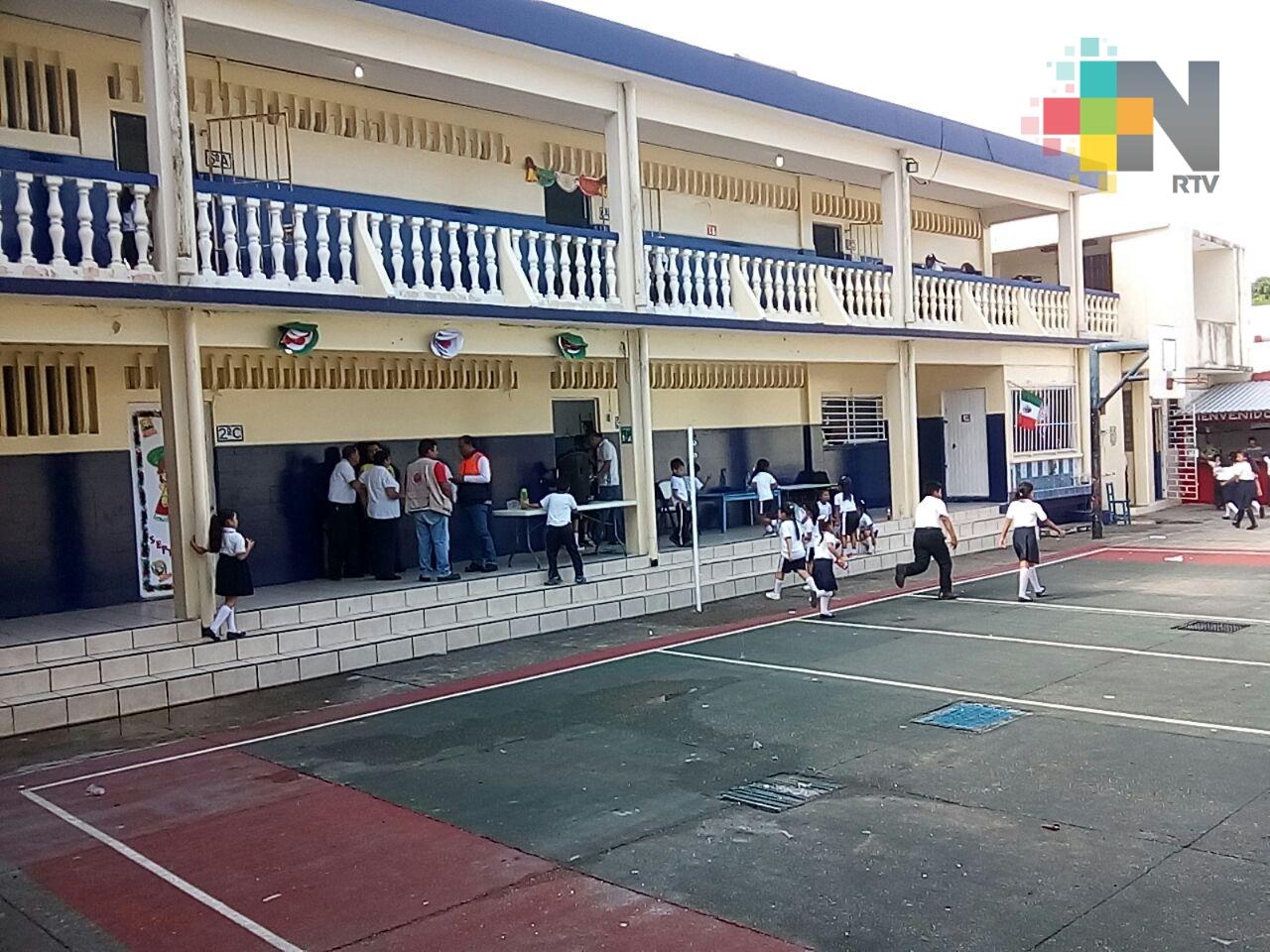 Existen protocolos en escuelas para proteger a los niños de cualquier riesgo: SEV