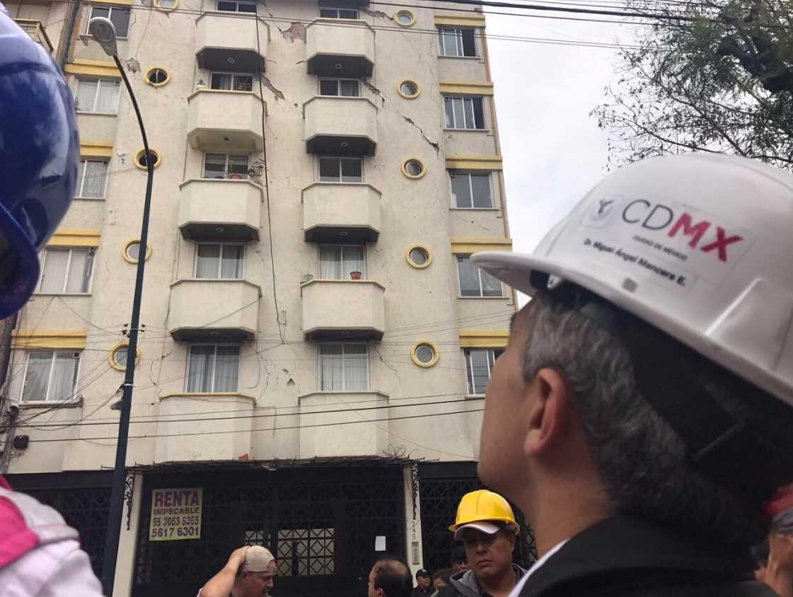 Alista gobierno de la CDMX plan de reconstrucción por sismo
