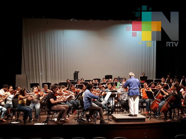 Donará Orquesta Filarmónica de Boca del Río lo recaudado en entradas a damnificados por sismo
