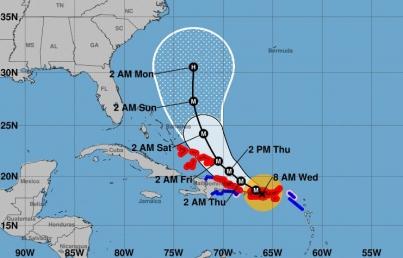 Huracán María se dirige a Turcos y Caicos tras devastar Puerto Rico