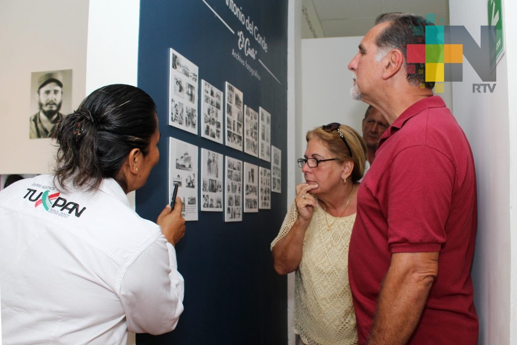 Museo México-Cuba, en Tuxpan, se posiciona más con el turismo nacional y extranjero