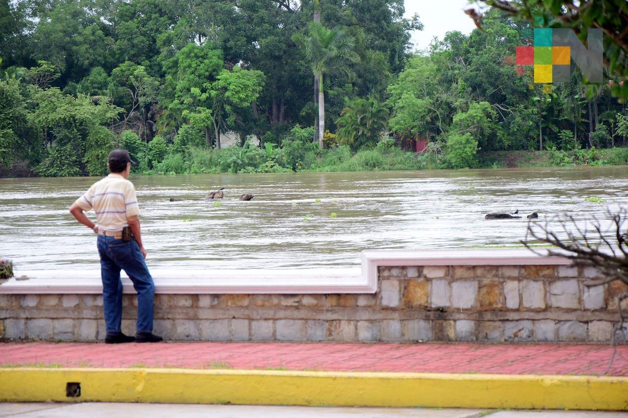 Río Pánuco muy por debajo de su escala crítica