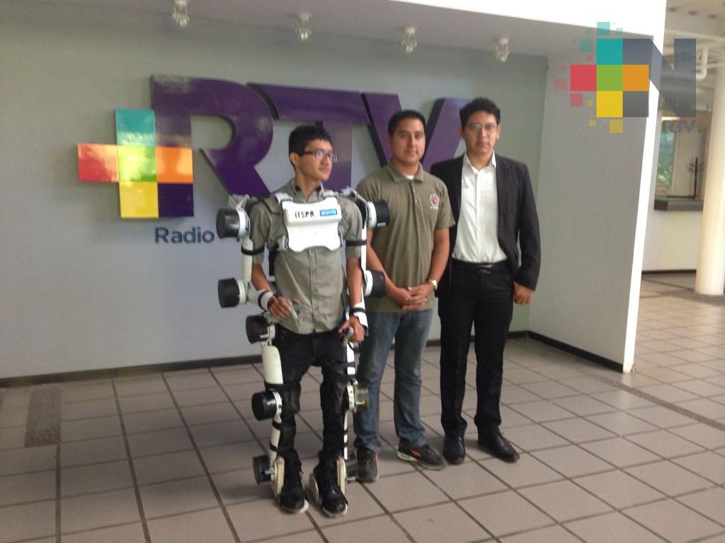 Alumnos del IST Poza Rica trabajan en prótesis para personas que las necesitan