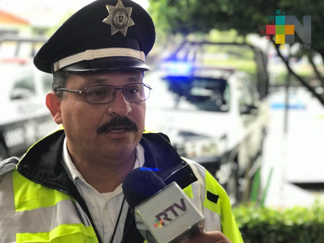 Exhorta Tránsito de Coatzacoalcos a manejar con precaución por las lluvias