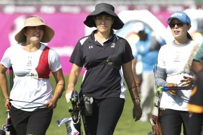 Mexicana Aida Román se queda con plata en Mundial de Arquería