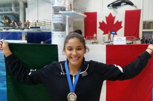 Clavadistas mexicanos con oro y plata en Panamericano Junior en Canadá