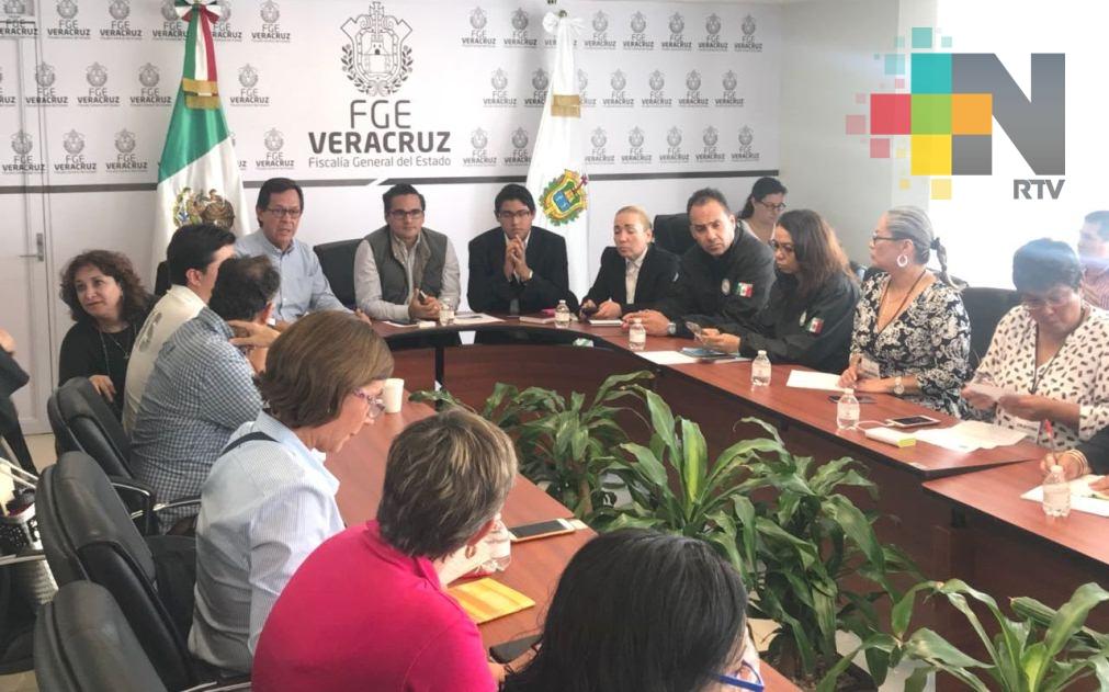 Se reúnen Roberto Campa y Jorge Winckler con familiares y miembros de colectivos de personas desaparecidas