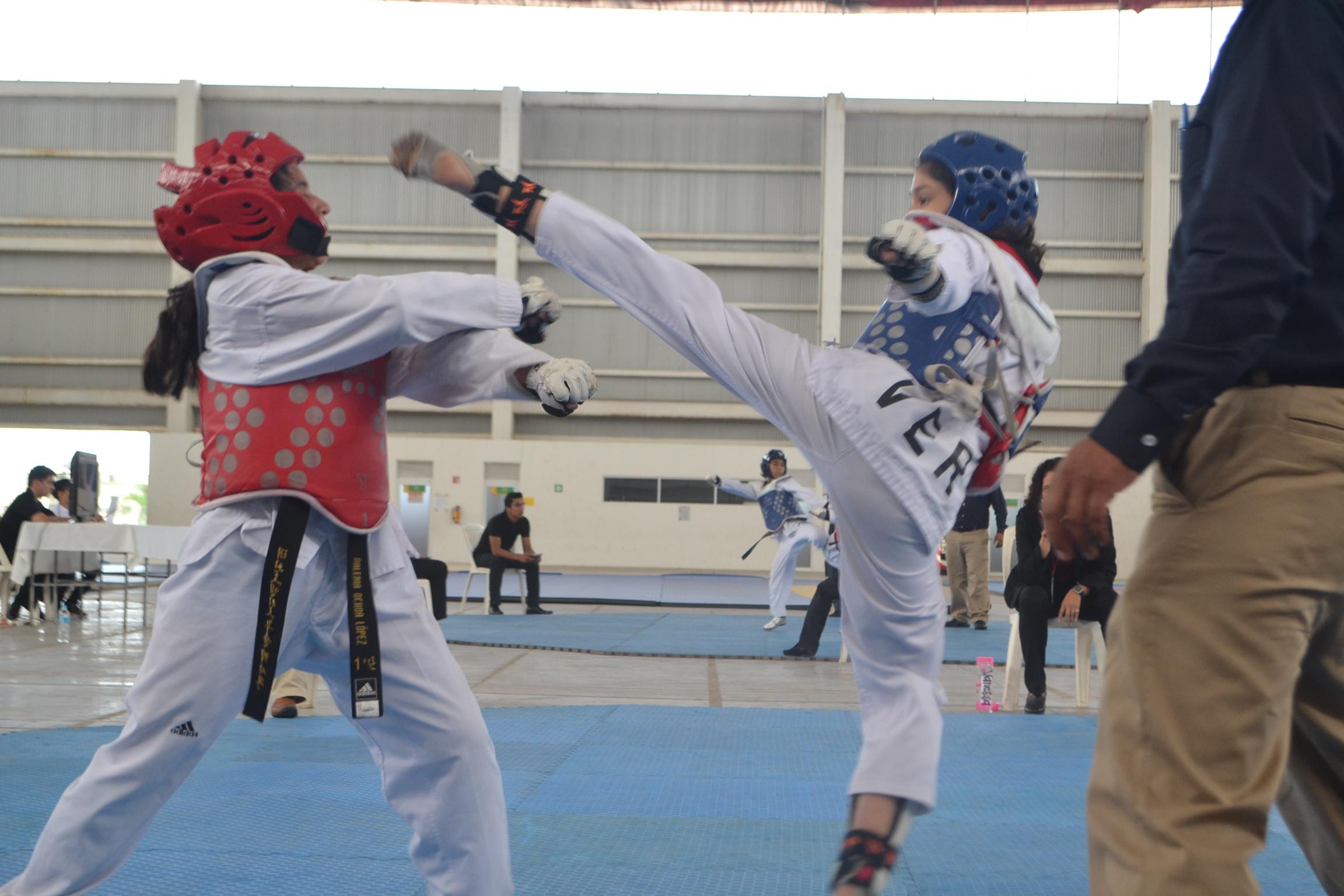 Listo Selectivo Estatal de Taekwondo en Arena Veracruz