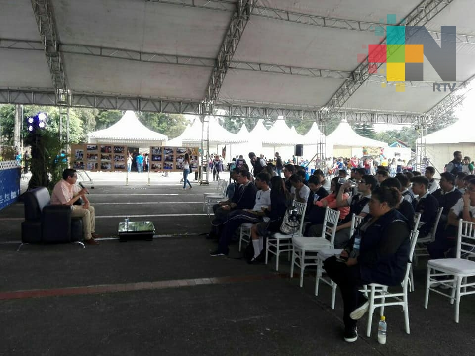 Participó RTV en la XXIV Semana Nacional de Ciencia y Tecnología Veracruz 2017