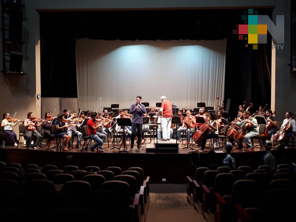 Orquesta Filarmónica de Boca del Río concluye su estadía en el teatro Francisco Gutiérrez Barrios