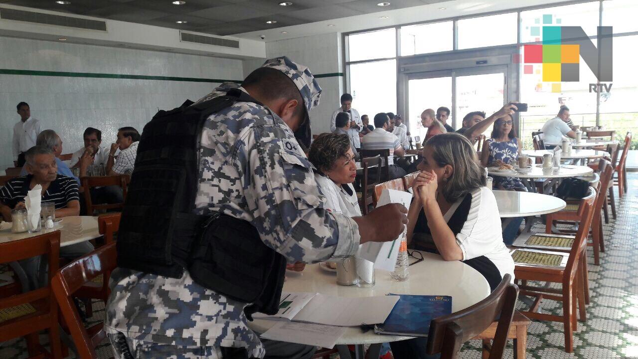 FGE cesa a policías que intentaron detener a mujer de manera ilegal