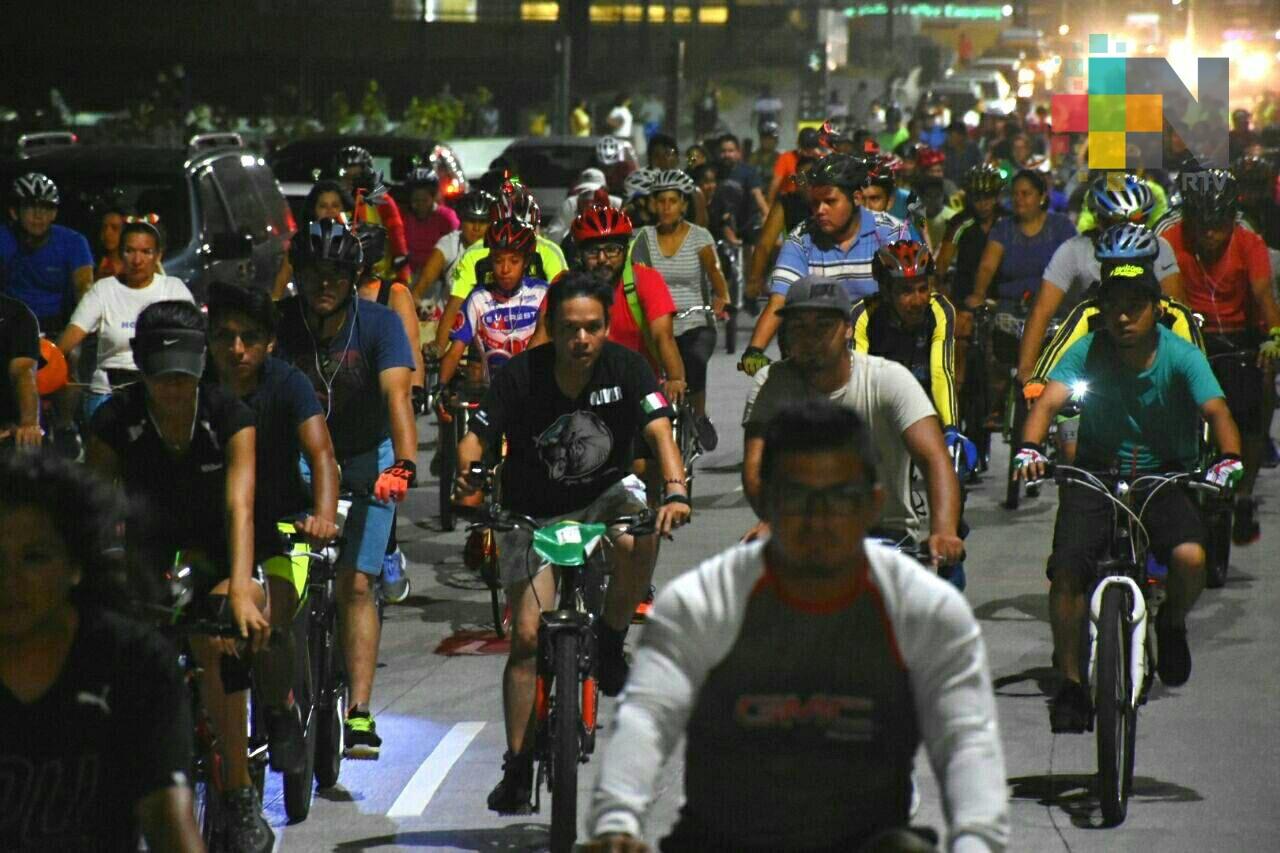 Celebran Critical Mass en Boca del Río