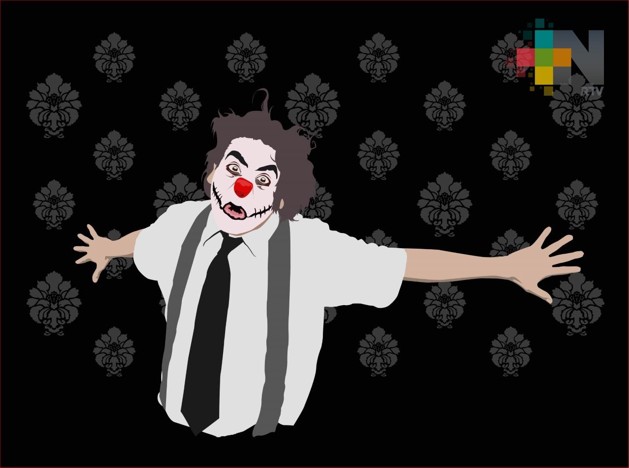 """Invitan a la primera edición en Xalapa del festival """"Clown is death"""""""