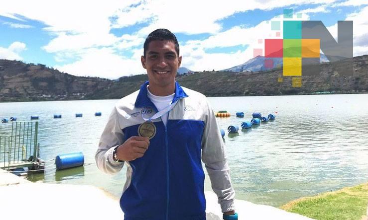 Resalta Marcos Heliud Pulido medalla en Panamericano Canotaje