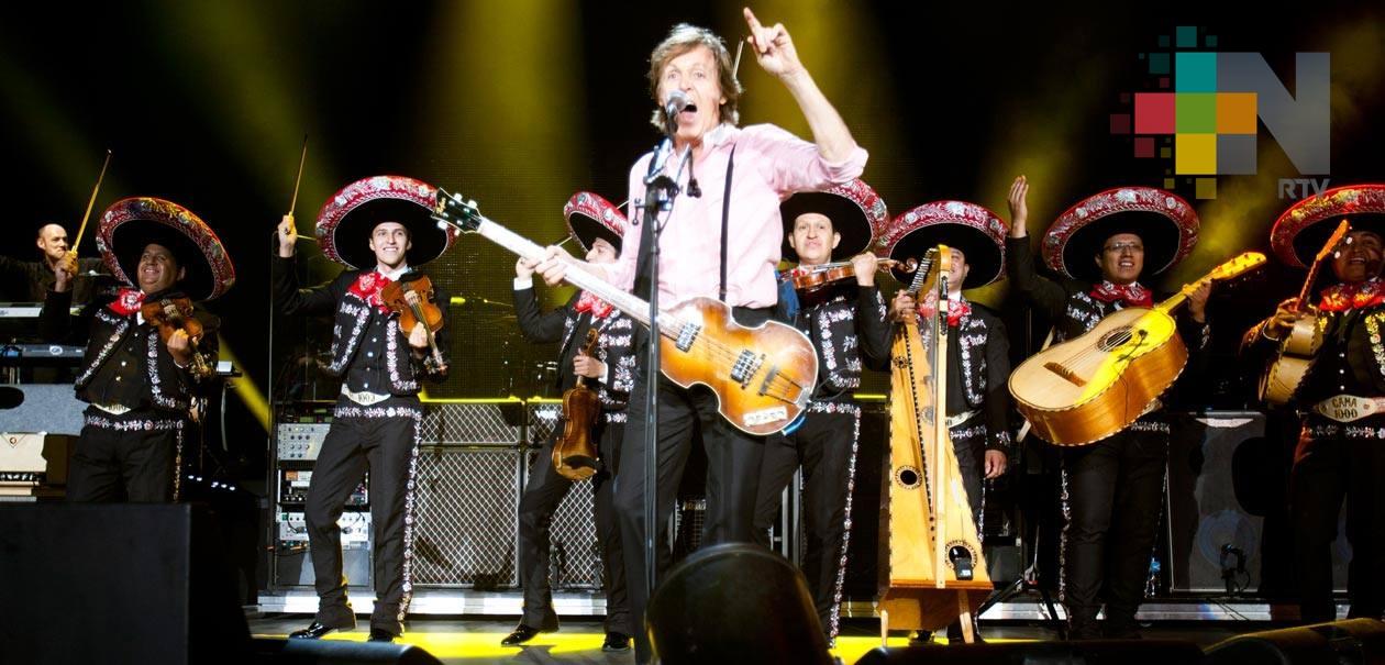 """Expresa Paul McCartney amor por México: """"nos vemos pronto"""", dice"""