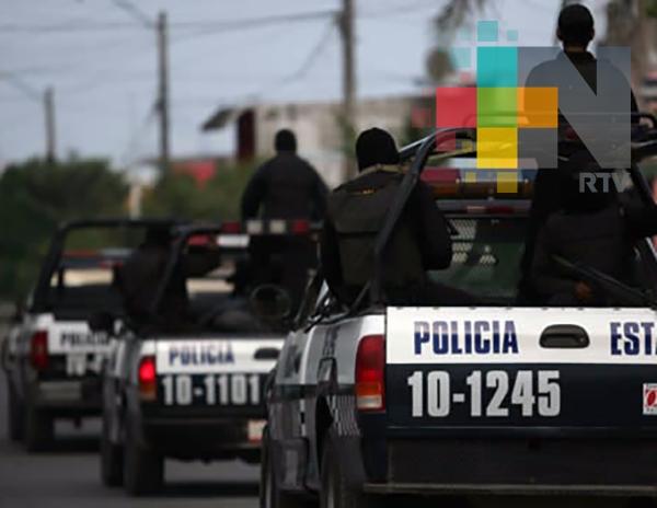 Elementos de la SSP abaten a 3 presuntos delincuentes y capturan a 1 en Río Blanco, al repeler una agresión