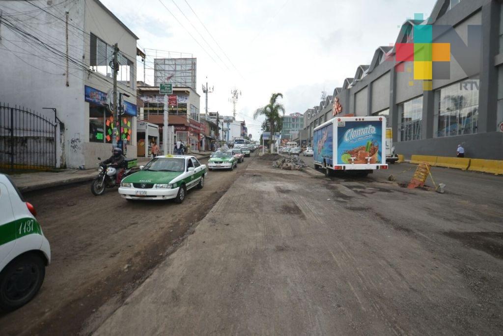 Inician reparación de la avenida Antonio Chedraui Caram, en Xalapa