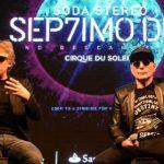 Espectáculo de Cirque du Soleil une a exintegrantes de Soda Stereo