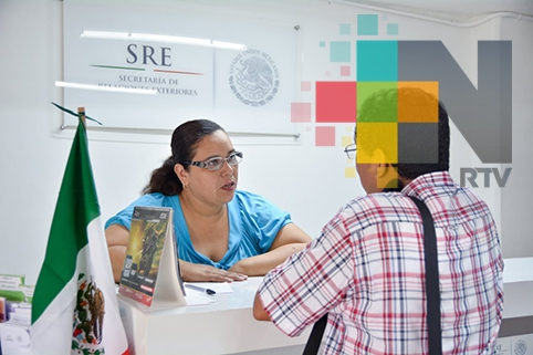 SRE en Tuxpan registra alto movimiento para tramitar pasaporte