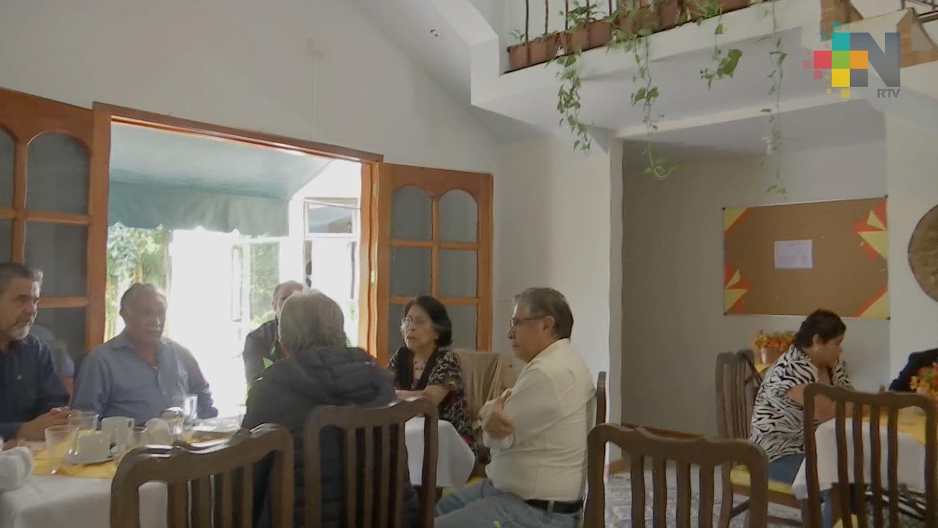 Club Sin Fronteras, cambio de actitud, emoción y recreación para adultos mayores