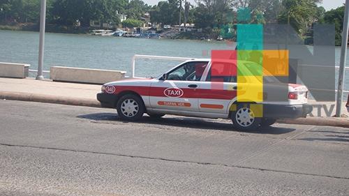 Cerca del 80% de taxis cumplieron con el programa de reordenamiento en Tuxpan