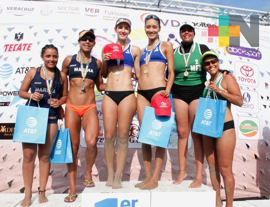 Itzel Santoyo y Cecilia Ríos ganan Tour Mexicano de Voleibol de Playa