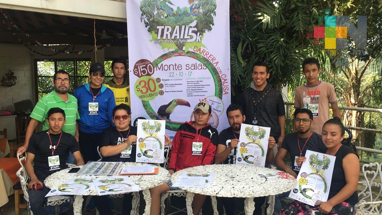 Con Trail 5k promoverán biodiversidad en Monte Salas, municipio de Fortín
